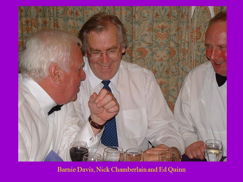 Barnie Davis, Nick Chamberlain and Ed Quinn