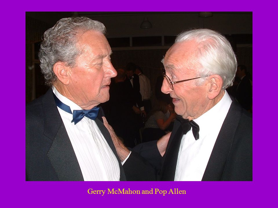 Gerry McMahon and Pop Allen