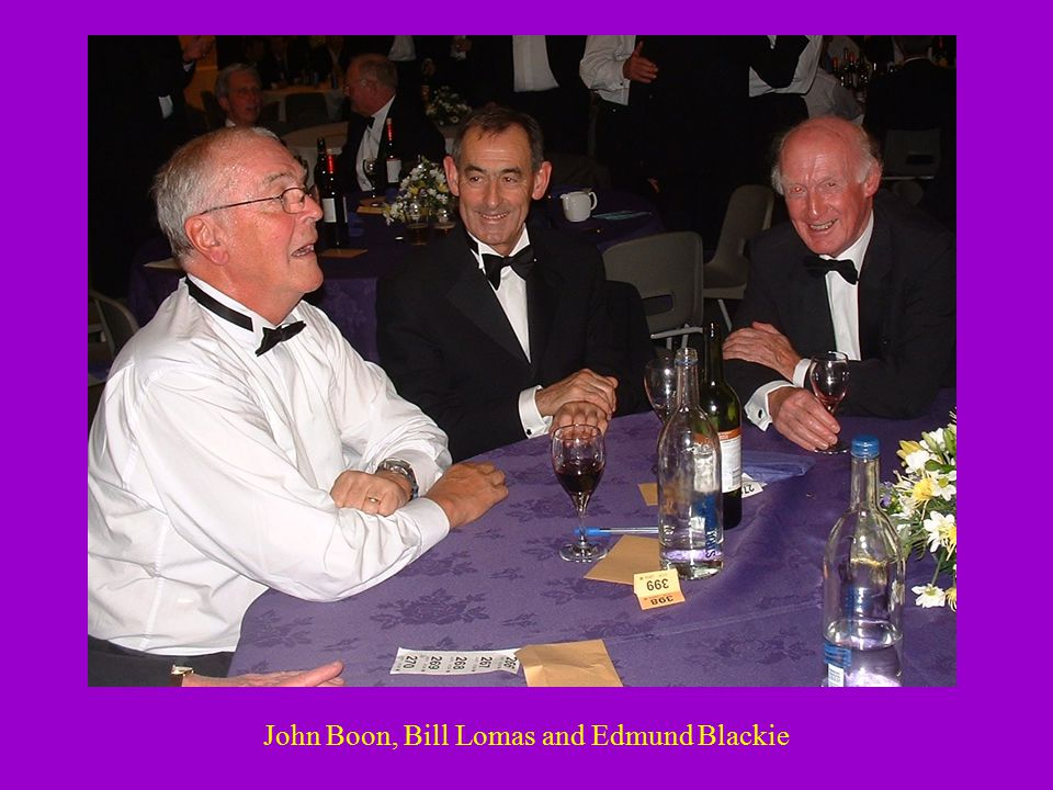 John Boon, Bill Lomas and Edmund Blackie