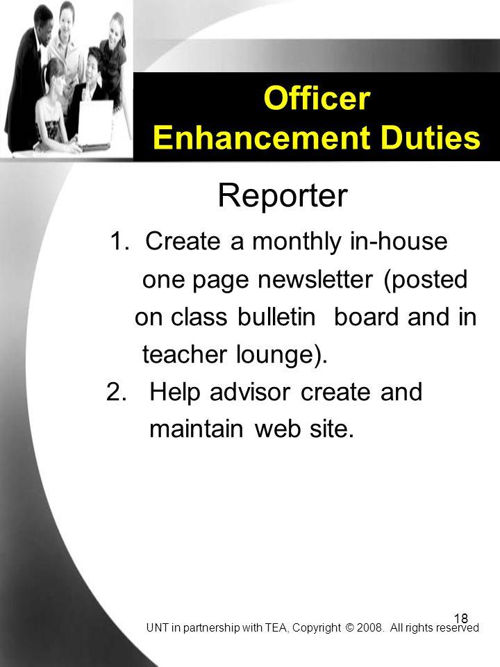 18 Officer Enhancement Duties Reporter 1.