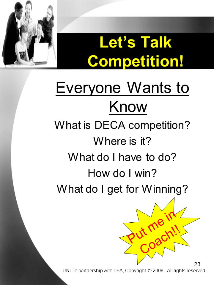 23 Everyone Wants to Know What is DECA competition.