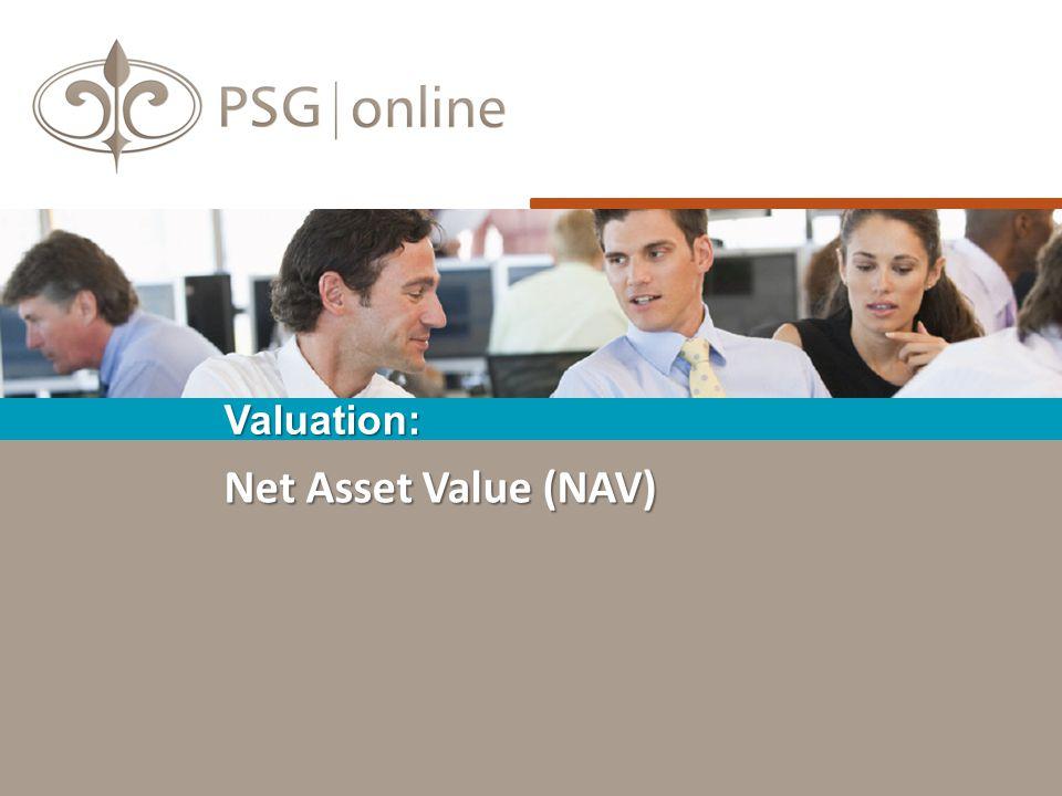 Net Asset Value (NAV) Valuation: