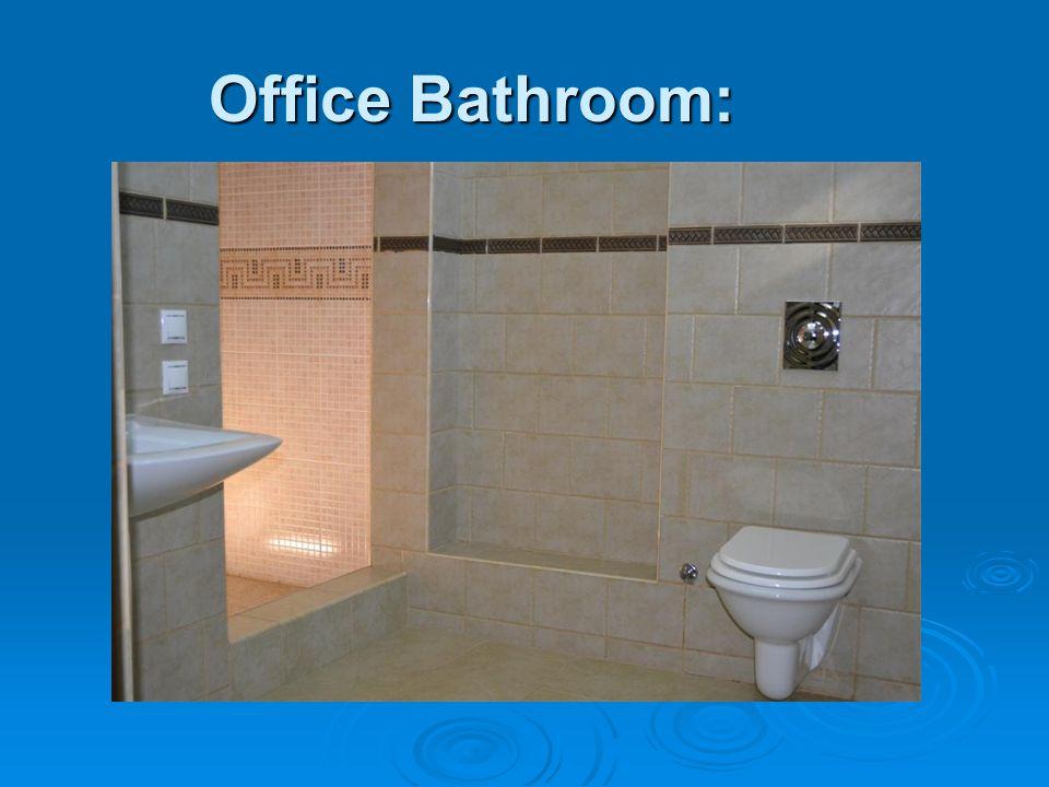 Office Bathroom: