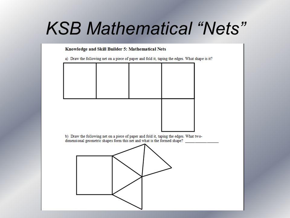 KSB Mathematical Nets