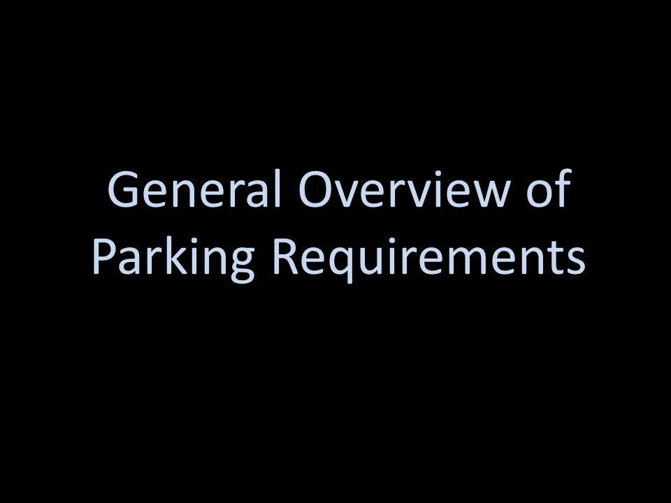 Mixed Use Parking Requirements Example: 10,000 square feet retail = 33.33 Ten 1 bedroom apartments = 15.00 8,500 square foot nursing home = 21.25 Total = 69.58 Round to Nearest Whole Number = 70 Spaces