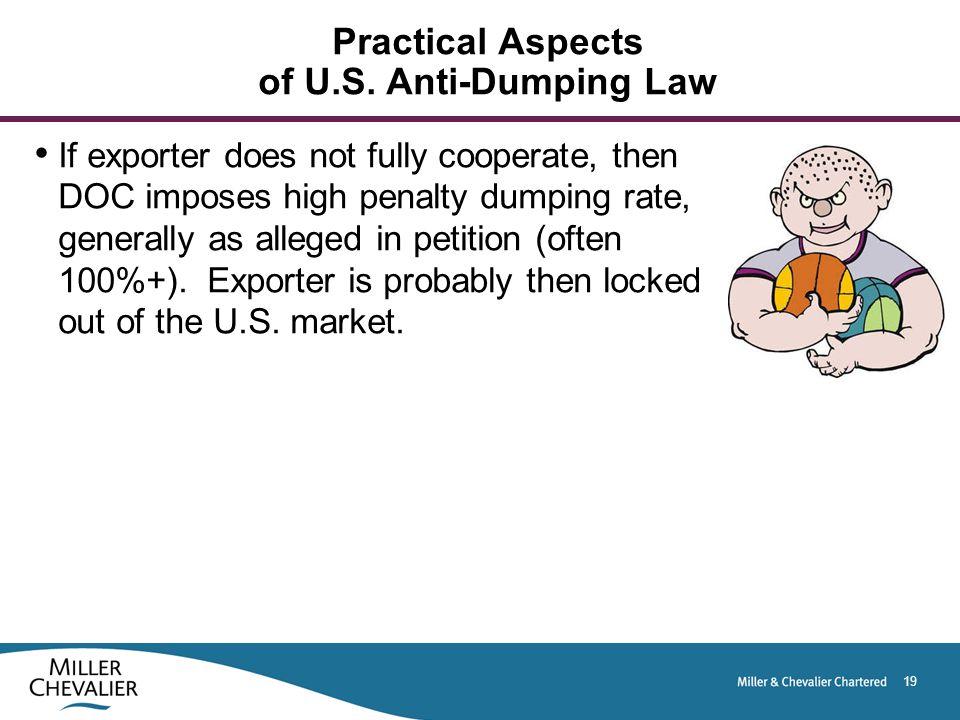 19 Practical Aspects of U.S.