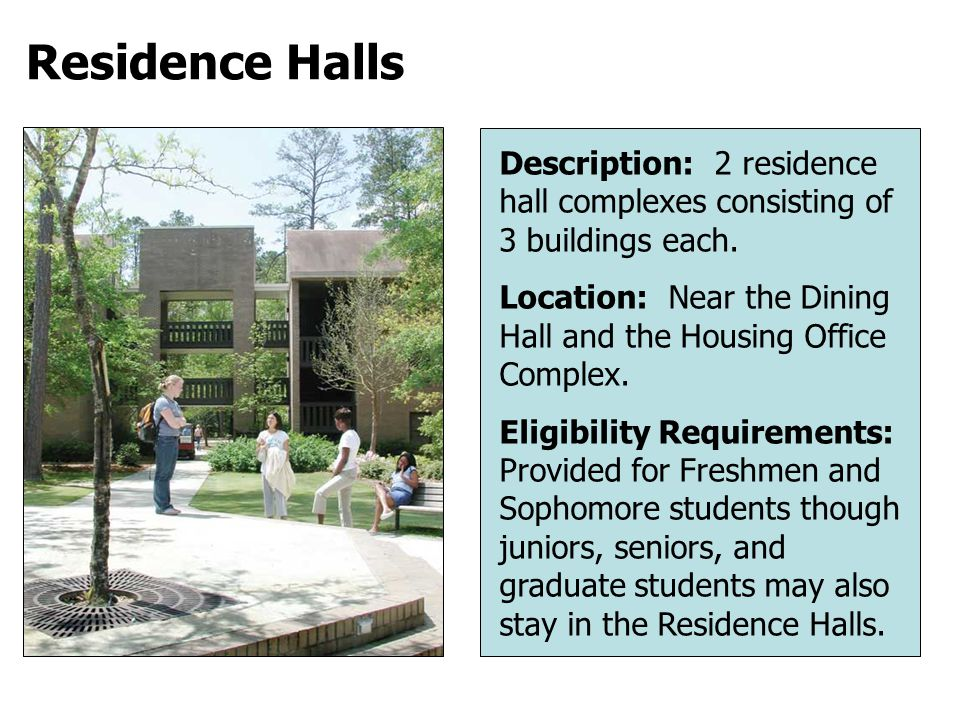 April 1Priority deadline for the On-Campus Housing Application Form and Payment of $250.
