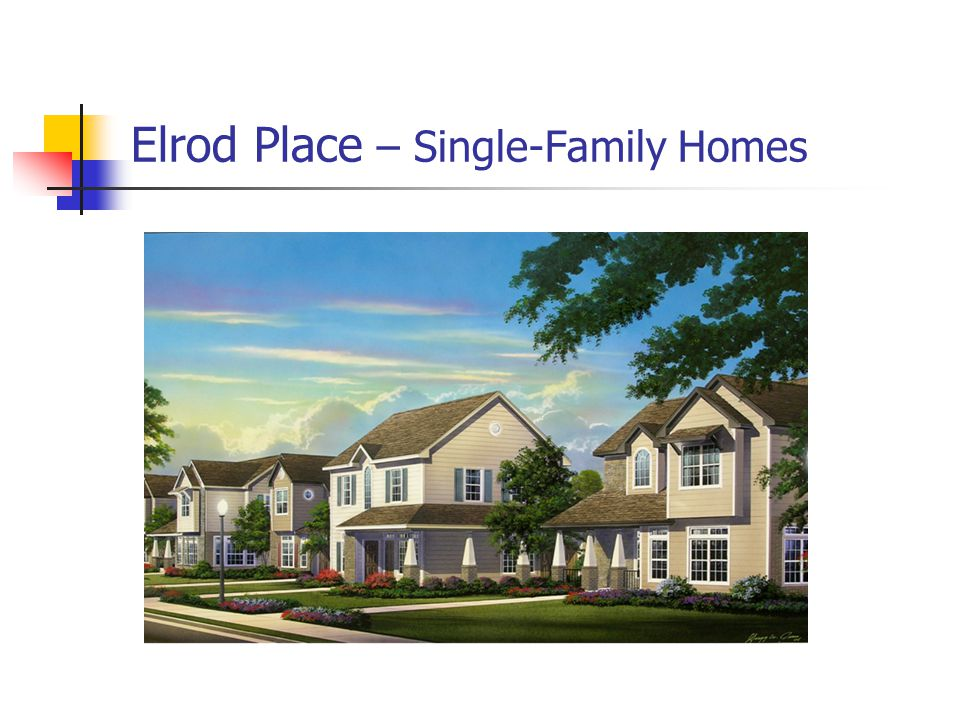 Elrod Place – Single-Family Homes