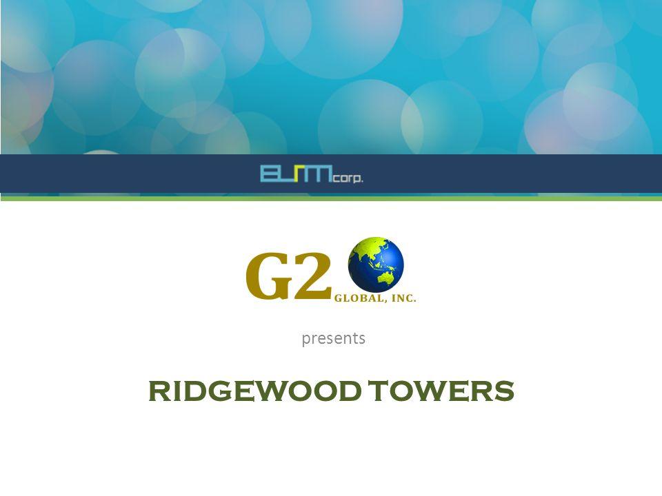 RIDGEWOOD TOWERS presents