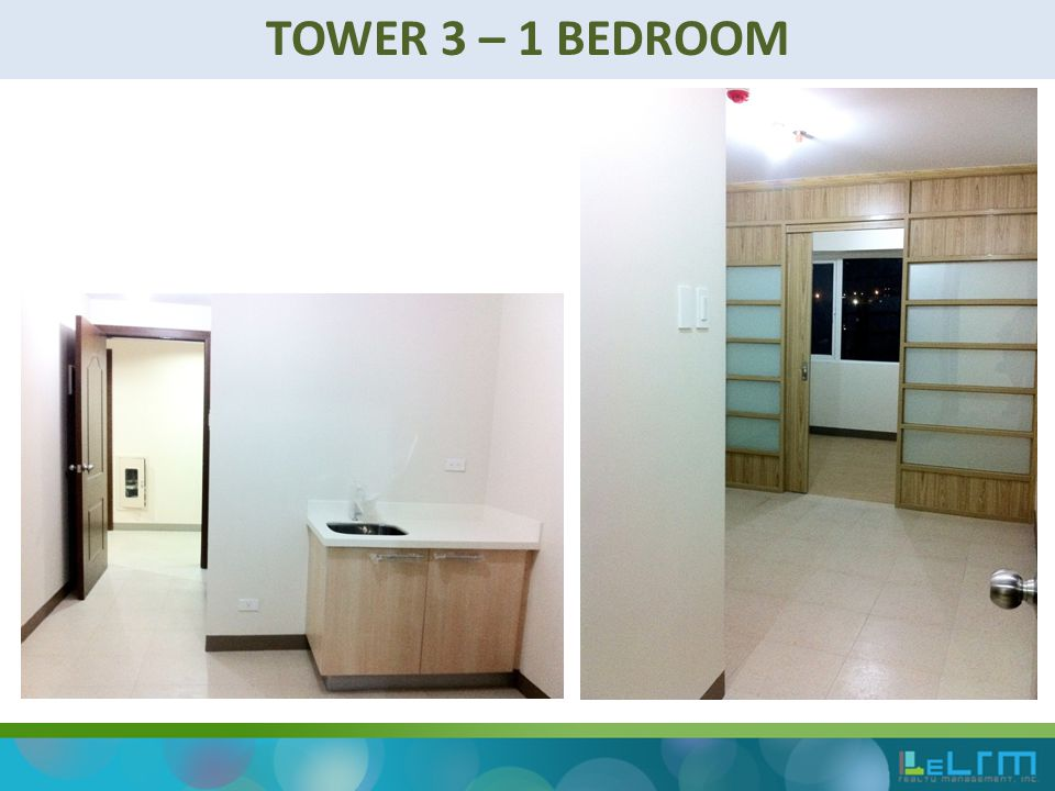 TOWER 3 – 1 BEDROOM