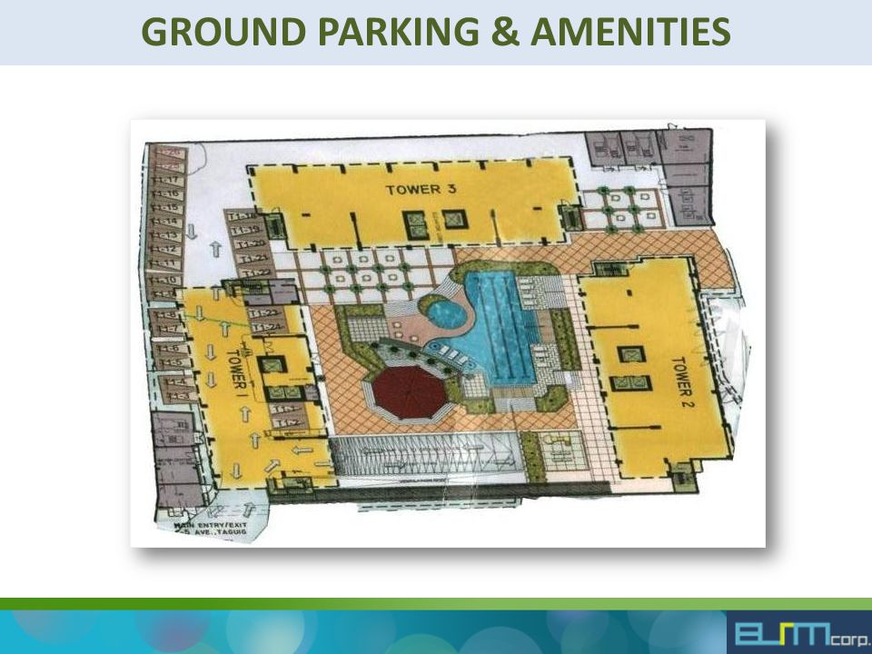 GROUND PARKING & AMENITIES