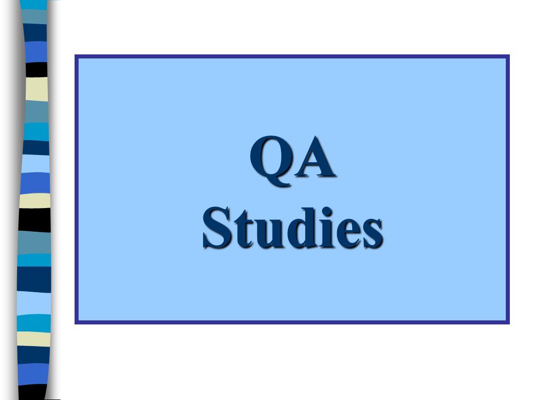 QA Studies