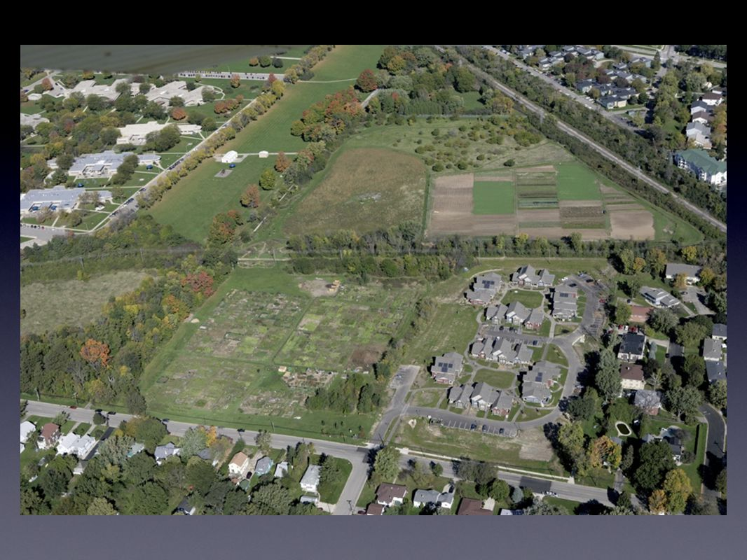 Who Does What All land owned by Madison Area Community Land Trust (MACLT) on behalf of the community All open spaces and programs managed by Friends of Troy Gardens Conservation easement held on open space by Urban Open Space Foundation MACLT built the housing
