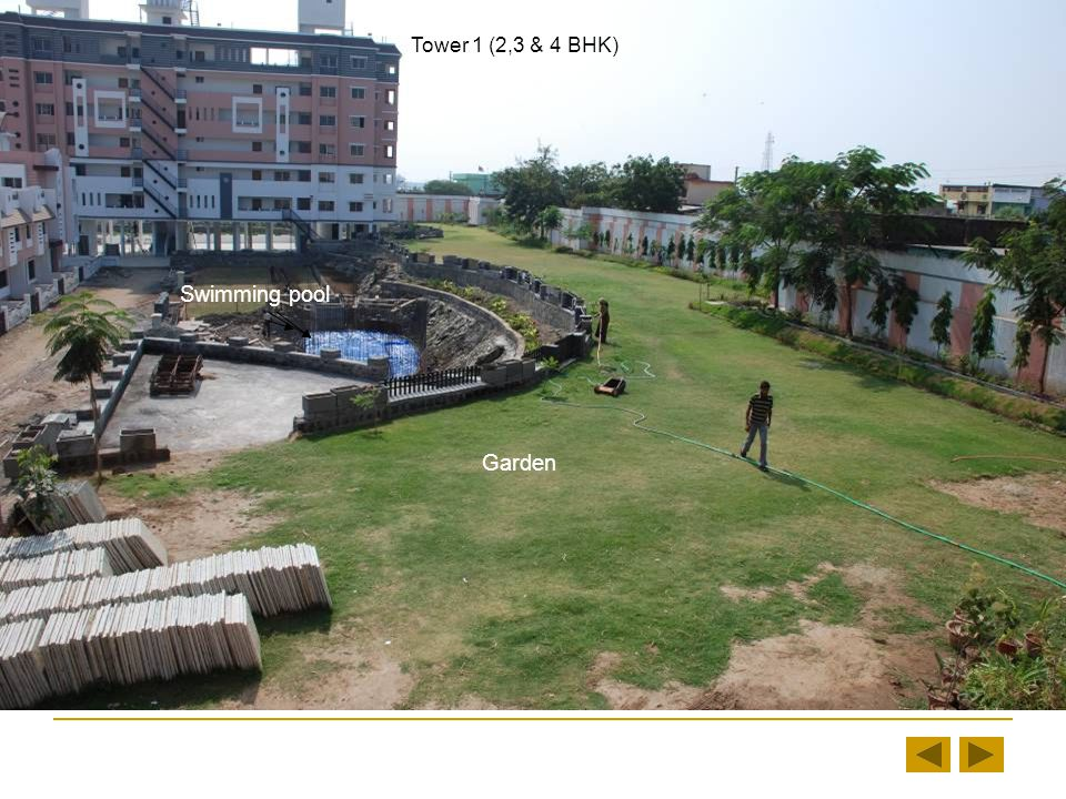 Tower 1(2,3 & 4 BHK) Small Garden