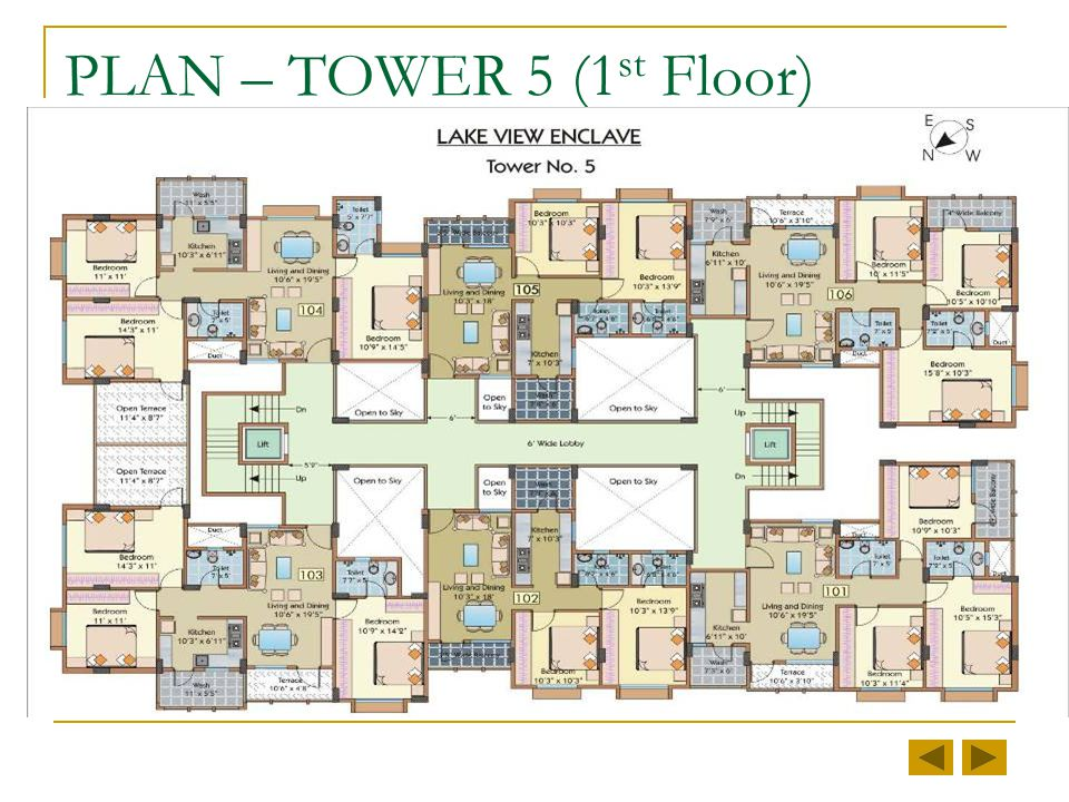 TOWER 5 Status as on January 1, 2009 2 & 3 BHK