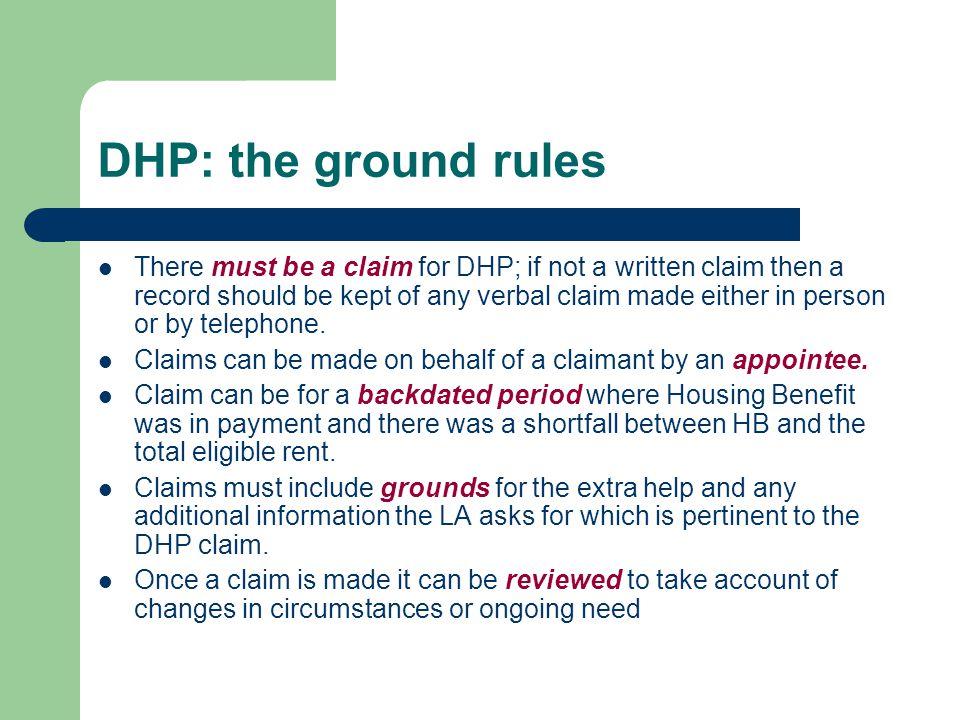2014/15: DHP Cap vs. RSRS estimate (2)