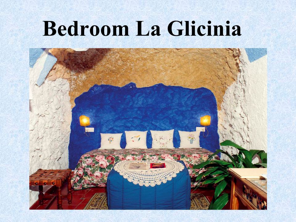 Bedroom La Glicinia