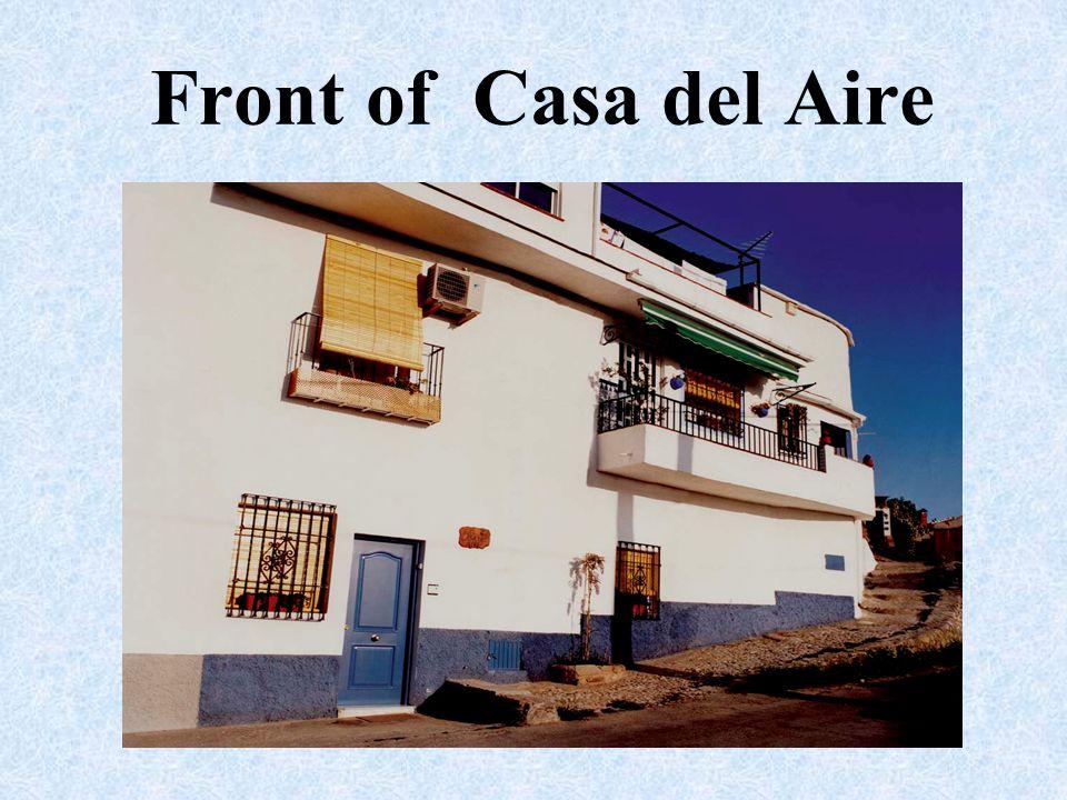 Front of Casa del Aire