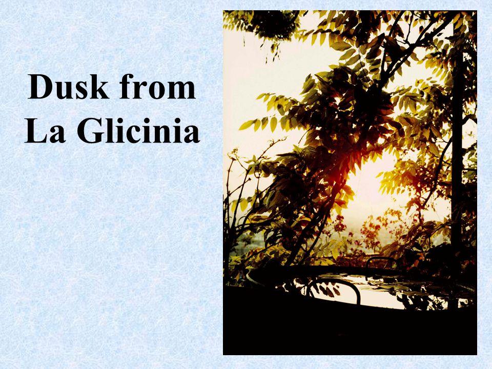 Dusk from La Glicinia