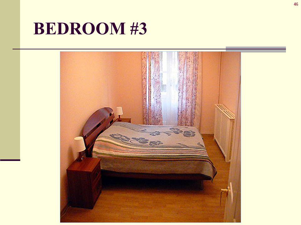 46 BEDROOM #3