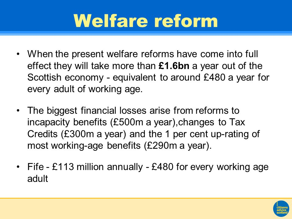 IMPACT OF REFORM In detail