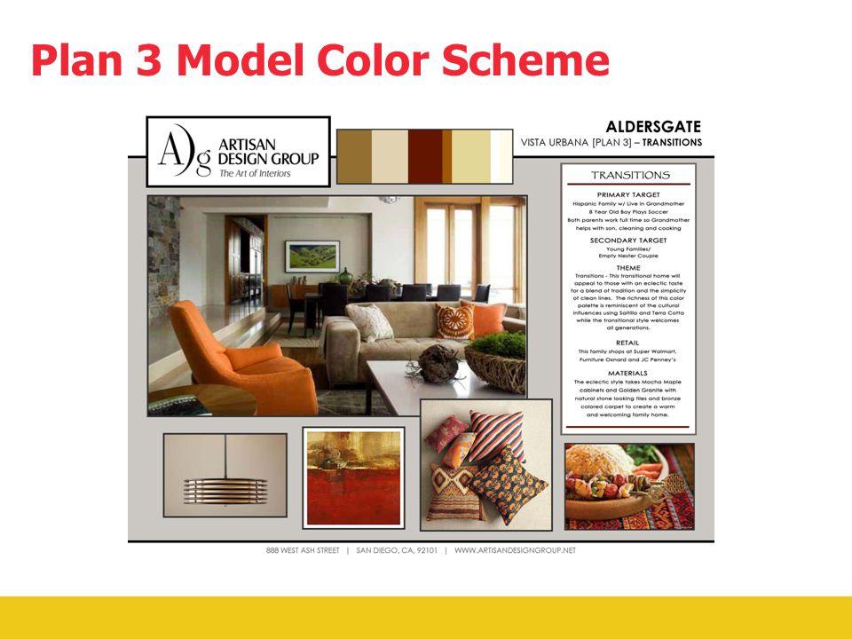 1,257 Square Feet 3 Bedroom 2 Bathroom 9' High Ceilings Granite Counter Tops Name Brand Appliances Porcelain Tile and Carpet Plan 3 Floor Plan