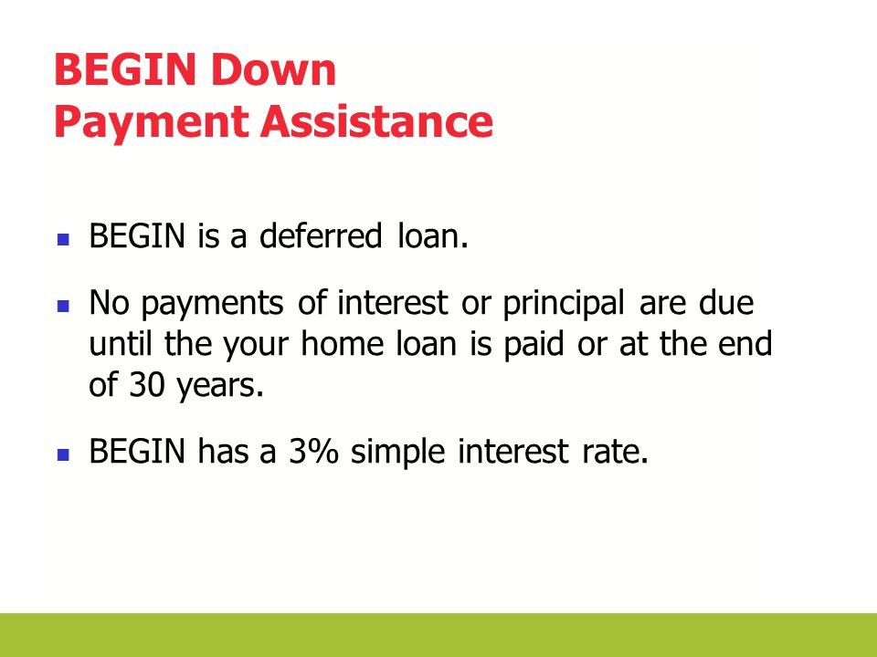 Down Payment Assistance Review BEGIN Grant CalHFA CHDAP CalHFA SFF Citywide Loan Program HERO Conditional Grant Property Tax Reduction Ventura County MCC Program