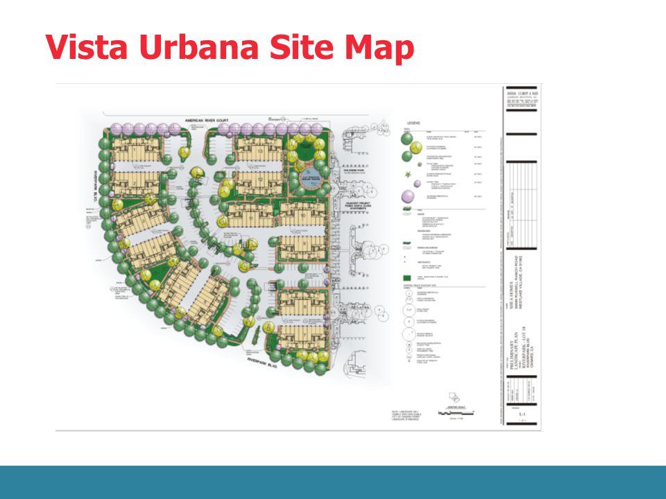 Vista Urbana Site Map