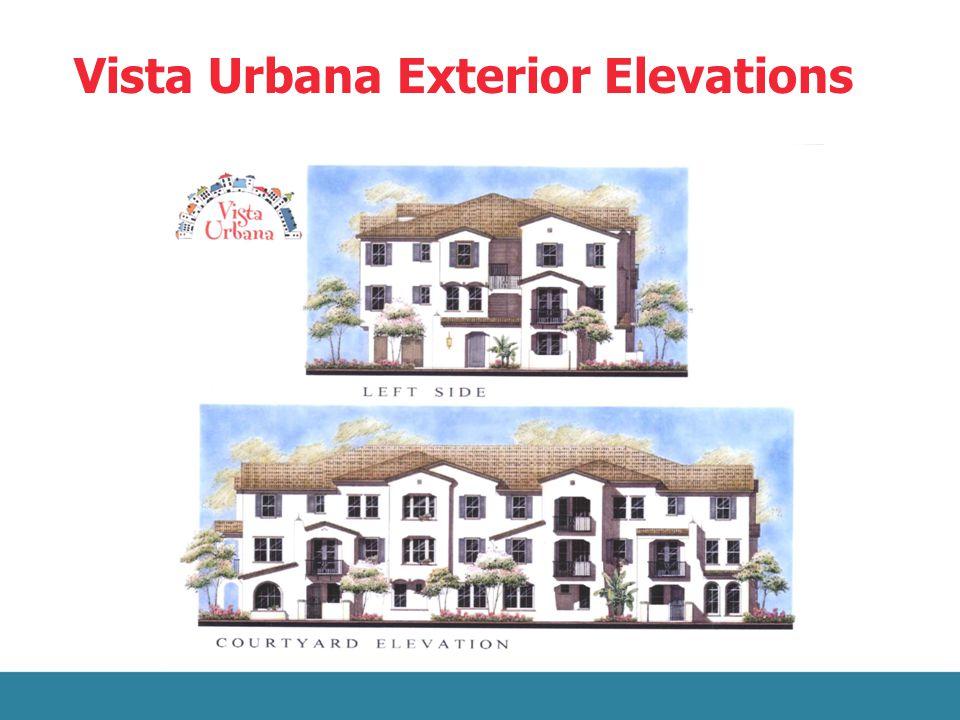 Vista Urbana Exterior Elevations