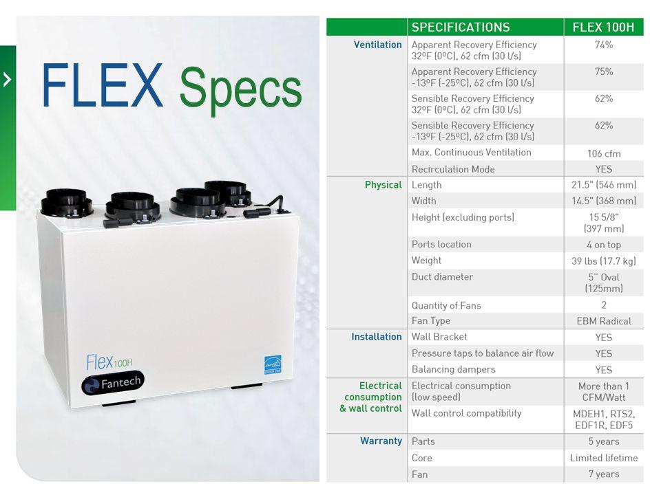 FLEX Specs