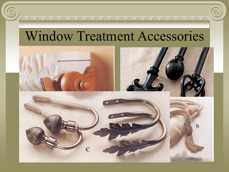 Window Treatment Accessories