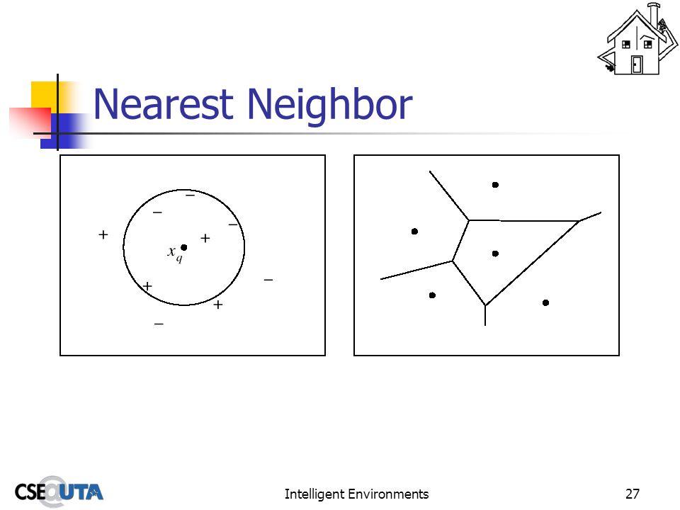 Intelligent Environments27 Nearest Neighbor