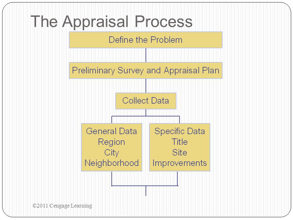 The Appraisal Process ©2011 Cengage Learning