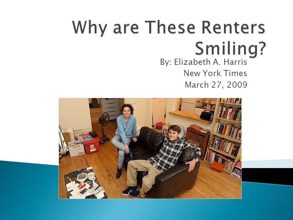 By: Elizabeth A. Harris New York Times March 27, 2009