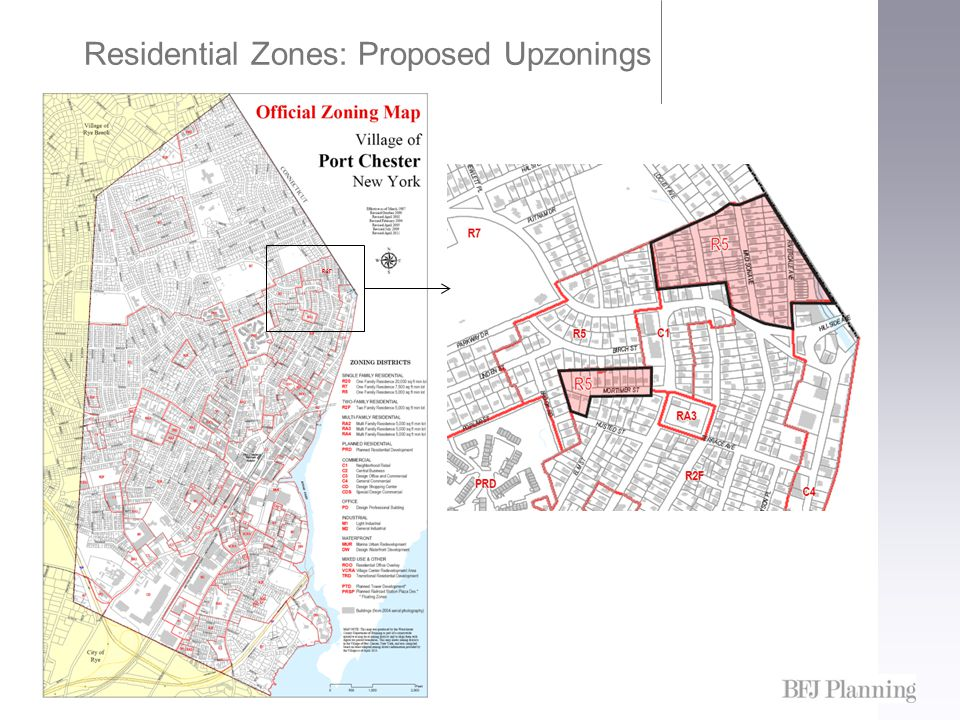 Residential Zones: Proposed Upzonings R2F