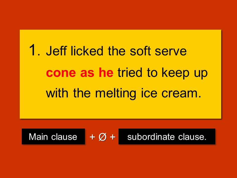 Let's try fixing some with subordinate conjunctions ! Let's try fixing some with subordinate conjunctions !