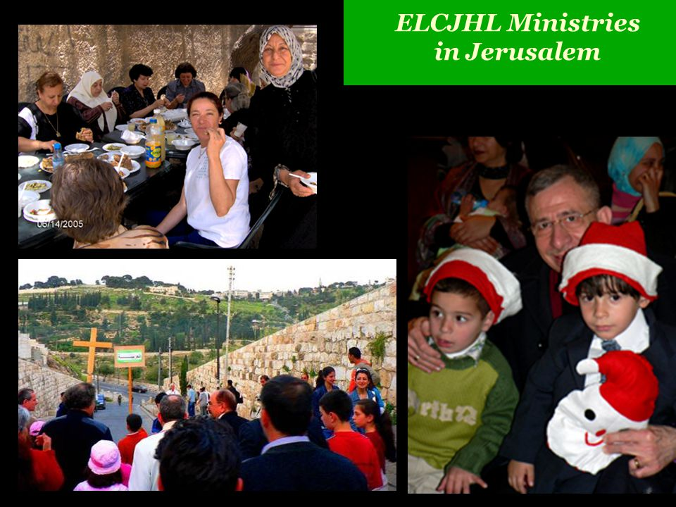 ELCJHL Ministries in Jerusalem