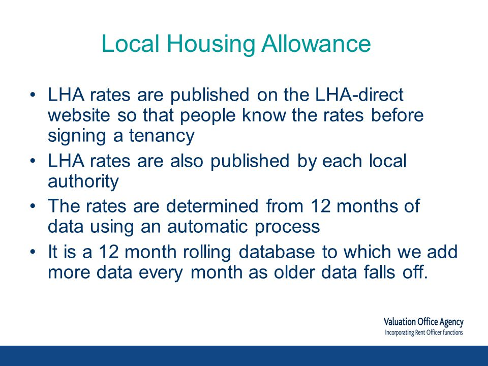 lha-direct.voa.gov.uk LHA Direct website Search by postcode for LHA rates since April 2008 BRMA Maps and associated review documentation List of Rents used for every LHA showing number of items and low / high rents