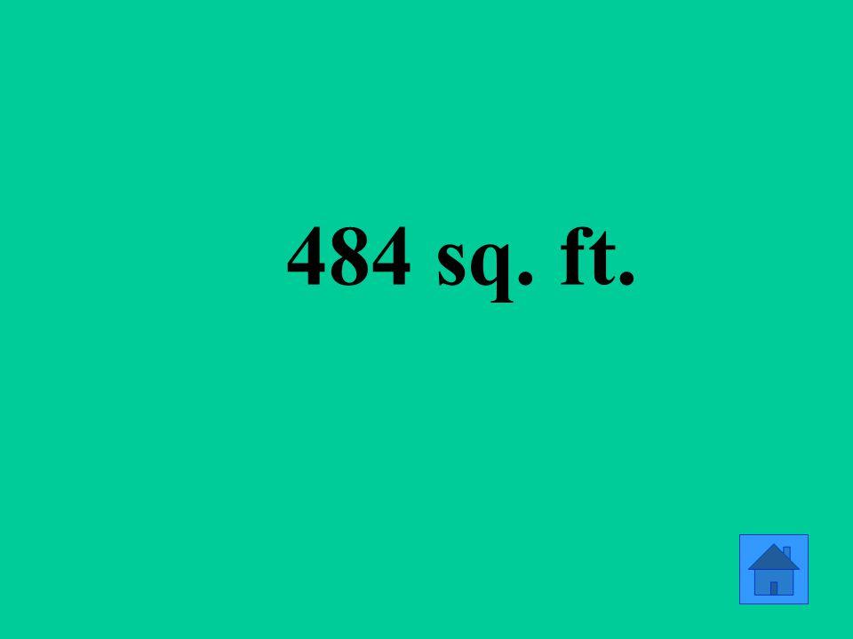 484 sq. ft.