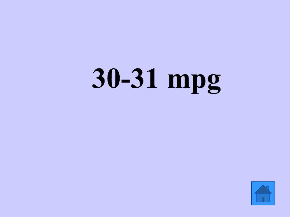 30-31 mpg