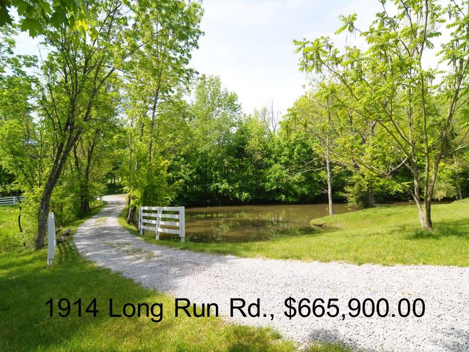 1914 Long Run Rd., $665,900.00