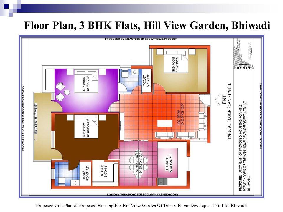 Layout Plan, Hill View Garden, Bhiwadi