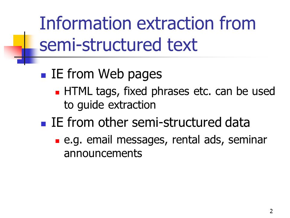53 Extracting list items e.g.