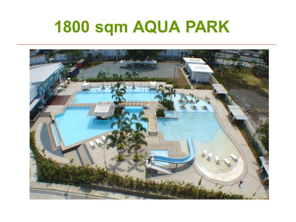1800 sqm AQUA PARK