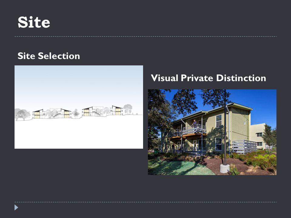 Site Site Selection Visual Private Distinction