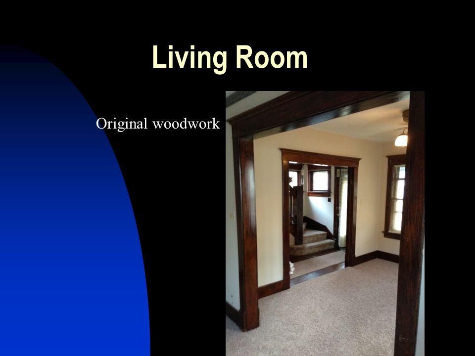 Living Room Original woodwork