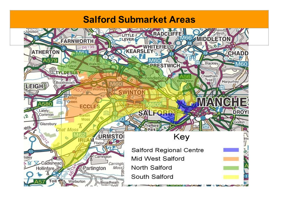 Salford Submarket Areas