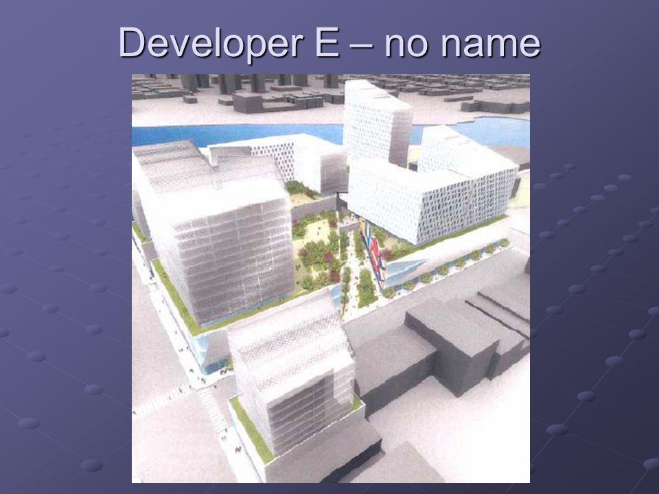 Developer E – no name