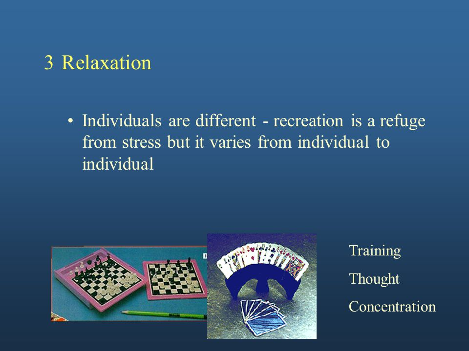 Important Considerations 1General to Specific 2Simple to Complex 3The stage under consideration is the most important one for the individual