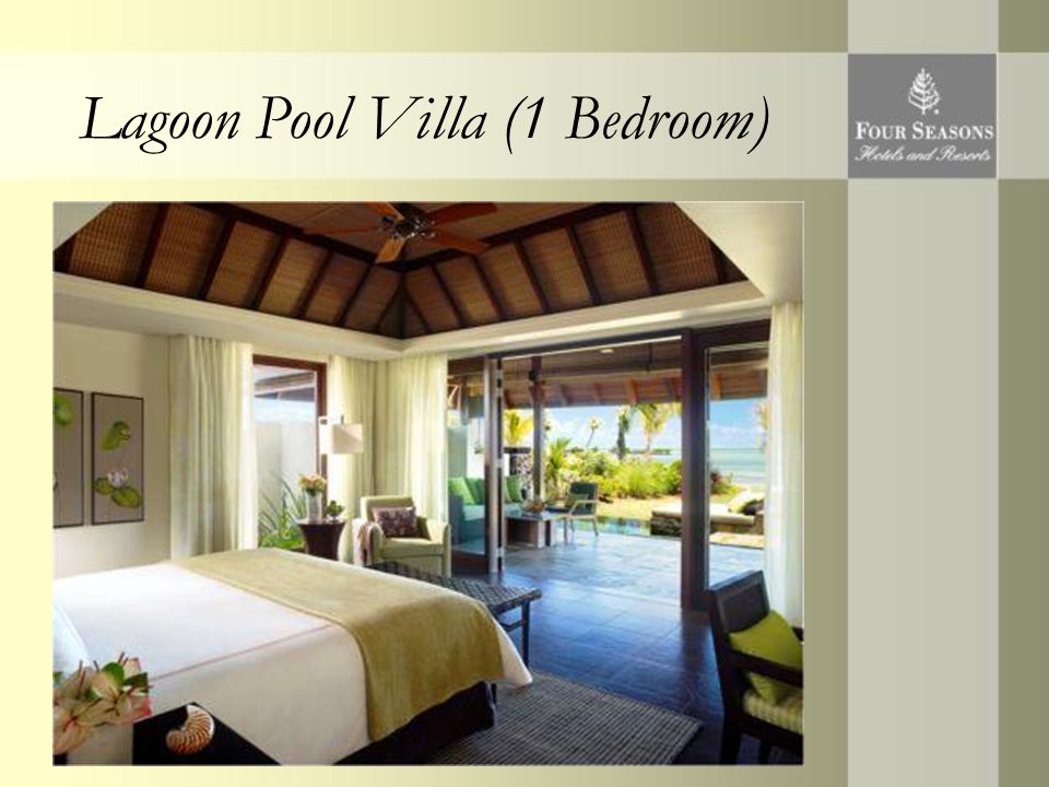 Lagoon Pool Villa (1 Bedroom)
